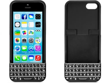 PHOTO: The Typo iPhone Keyboard Case costs $99.