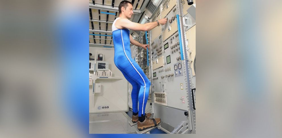 PHOTO: The Skinsuit will press down on its wearer to keep their bones in good health.