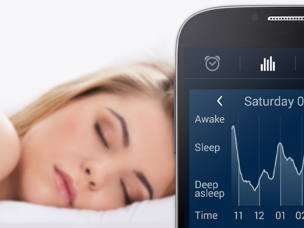 PHOTO:SleepCycle lets users track their sleep using an app.