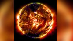 PHOTO: The Solar Dynamics Observatory (SDO) captured its 100 millionth image of the sun, Jan. 19, 2015.