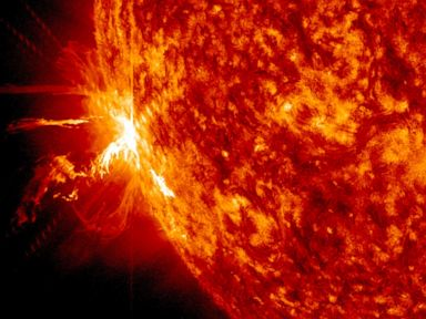 Solar Flares Could Send Shockwave on Friday the 13th