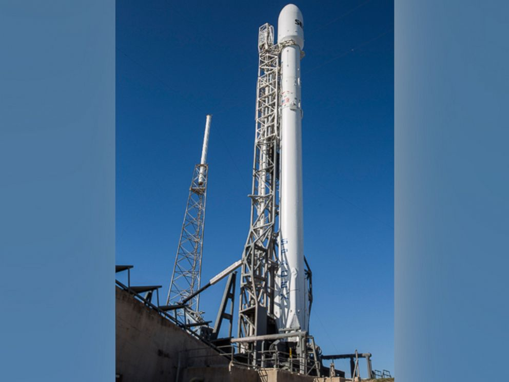 PHOTO:SpaceX is gearing up to launch the SES-9 satellite on Feb. 24, 2016.