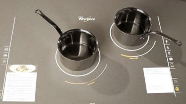 PHOTO: Whirlpools vision of the future involves a stove that doubles as a touch screen.