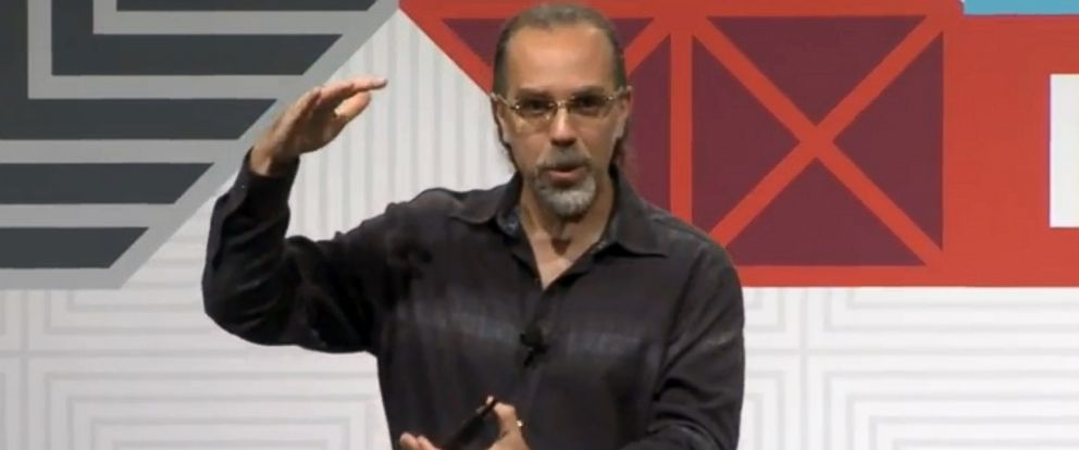 PHOTO: Google Xs Astro Teller speaks at SXSW in Austin, Texas, March 17, 2015, in this photo from livestream video.