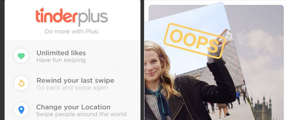 PHOTO: Tinder Plus is officially here.