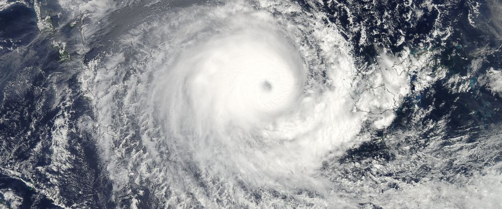 PHOTO:NASA captured this photo of Tropical Cyclone Winston from space.