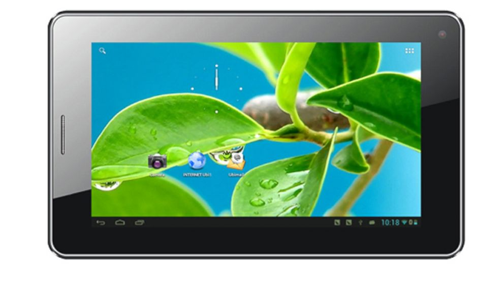 PHOTO:  The Ubislate is a cheap tablet thats slated to arrive early next year.