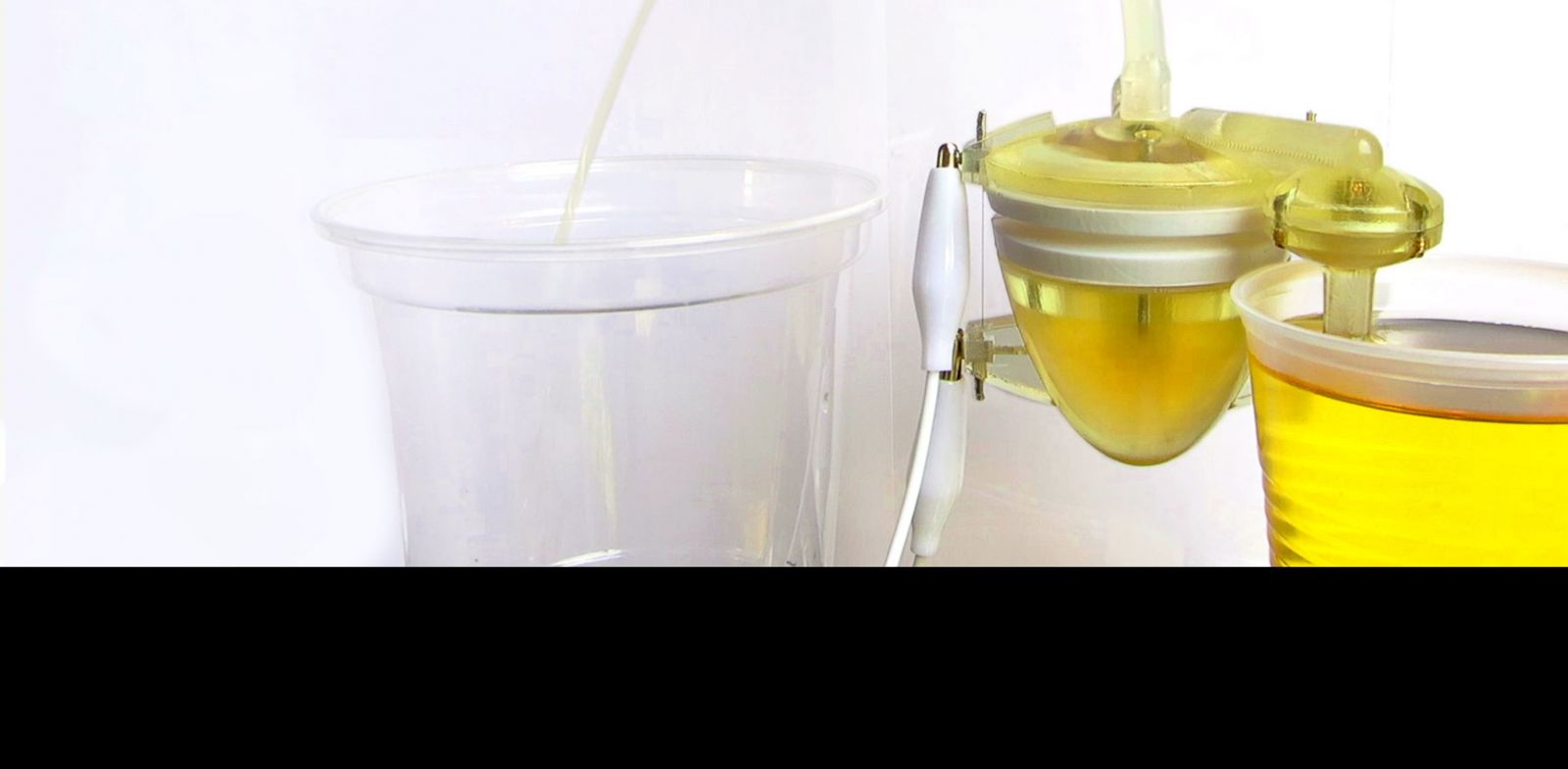 PHOTO: A new pump powered by urine may find its way into eco-friendly robots in the future.