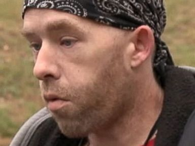 PHOTO: James Tully gets stopped by police who are looking for Eric Frein.