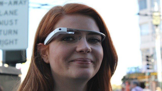 PHOTO: Google's Glasses.