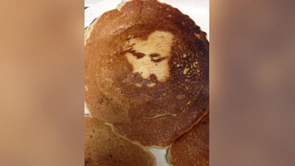 KABC cowgirl cafe jesus pancake jt 140419 16x9 608 Jesus Like Image Appears in California Cafe Pancake