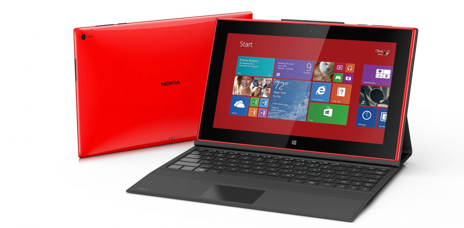 PHOTO: Nokias Lumia 2520 Windows tablet.