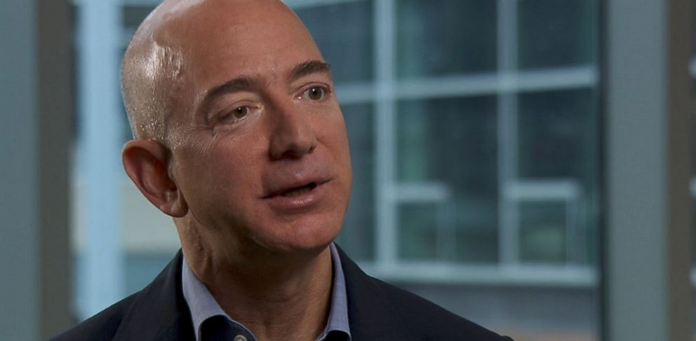 PHOTO: Jeff Bezos, the CEO of Amazon and owner of the Washington Post.