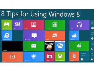 8 Tips For Using Windows 8