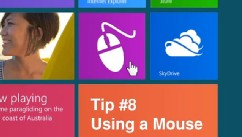 PHOTO: Windows 8 can also be used with a mouse and keyboard.