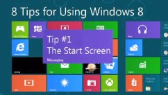 PHOTO: Windows 8 is centered around the Start Screen.