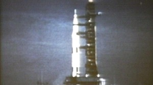 VIDEO: Apollo 11 lifts off July 16, 1969.