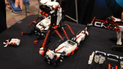 Lego's new Mindstorms can be built and then controlled with an iPad.