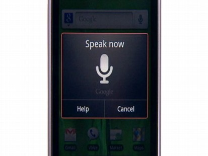 VIDEO: Google unveils Voice Action feature for Android phones.
