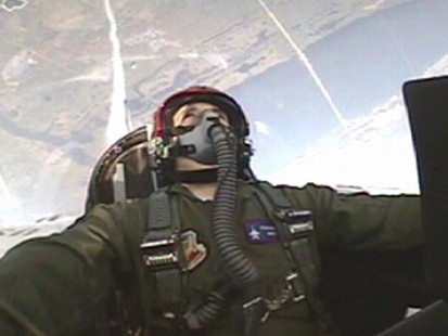 VIDEO: Ned Potters flight with the USAF gives him a story to tell his grandchildren.