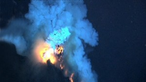 VIDEO: The Pacific Oceans West Malta volcano is the deepest eruption to be filmed.
