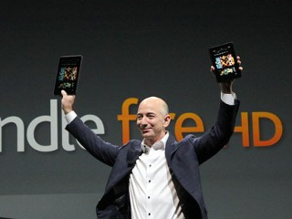 Amazon Unveils New Kindle Fire HD
