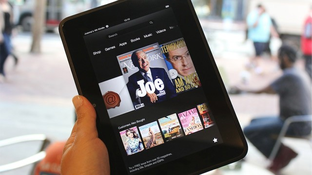 PHOTO: Kindle Fire HD