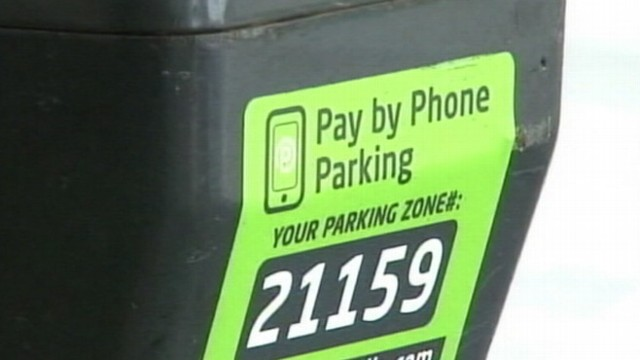 how to pay parking fee by phone