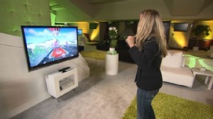 VIDEO: Becky Worley tests out the Microsoft Xbox Kinect.