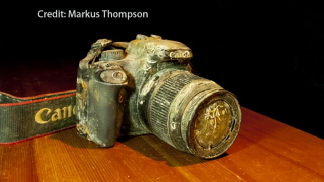 VIDEO: Canadian photographer recovered camera from the bottom of a harbor.