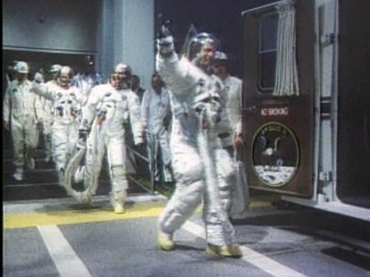 VIDEO: 40 years after this moon landing, people see it as a pivotal time in history.