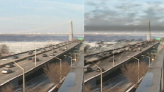 VIDEO: Video shows roads, skies, coal-fired plants when global warming gas is visible.