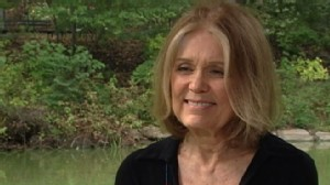 VIDEO: Steinem says global warming is like a nuclear holocaust slowed down slightly.