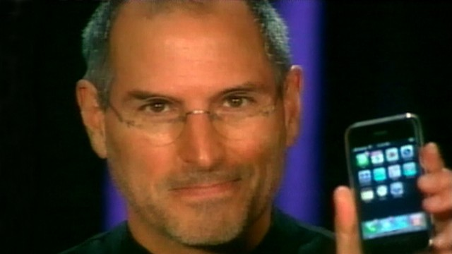 VIDEO: Steve Jobs introduced the iPhone in 2007.