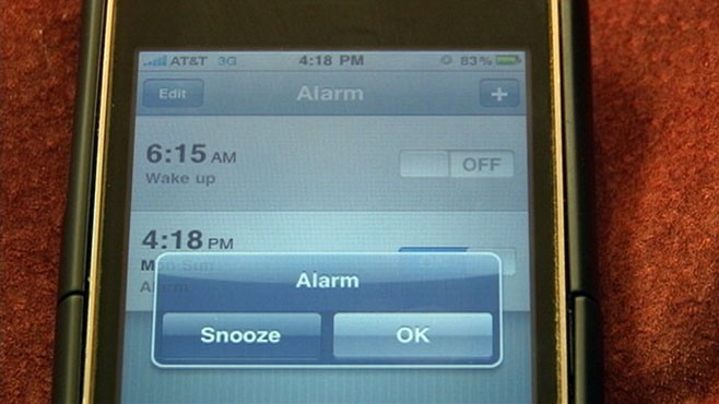 VIDEO: Reports out of Asia find iPhone users complaining of failed alarms.