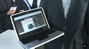 VIDEO: The phone company will be releasing its first laptop.