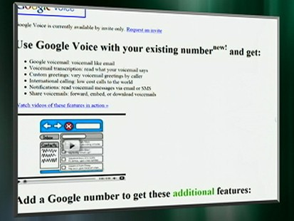 VIDEO: Google Voice will transcribe and save voice messages.