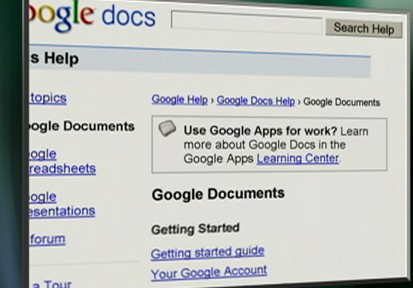 VIDEO: Users of Google Docs will now be able to store photos and documents online.