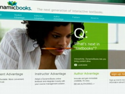 VIDEO: Digital Dynamic Books allows teachers to edit books for their students.