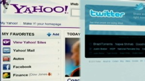 VIDEO: Yahoo! will offer Twitter feeds on their site.