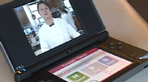 VIDEO: The DSI will feature two screens to accommodate gaming features.