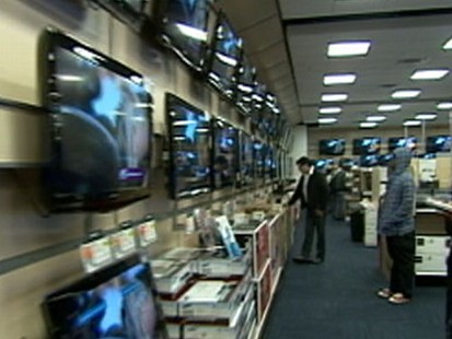 VIDEO: Panasonic and Best Buy will unveil 3D TVs for sale this week.