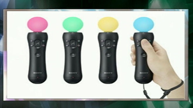 VIDEO: The gaming system will introduce an interactive controller this fall.
