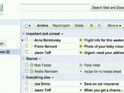 New Look for GMail