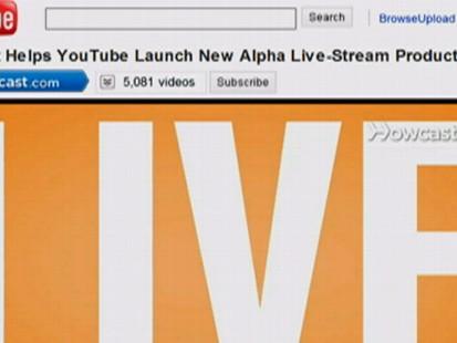 YouTube Goes Live