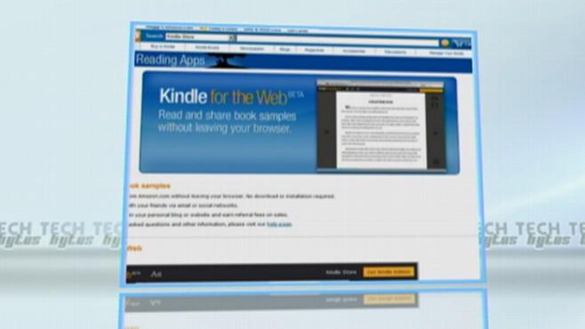 TechBytes: Kindle for the Web