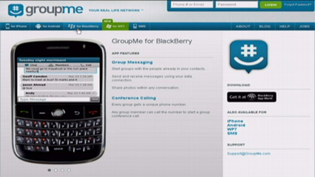 VIDEO: Skype announces it is purchasing the GroupMe messaging service.