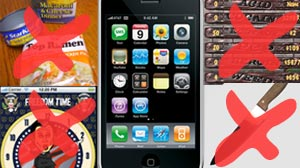 Photo: iPhone apps banned by Apple