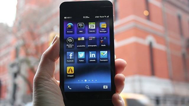 PHOTO: BlackBerry Z10