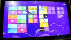 VIDEO: Lenovo's giant 27-inch tablet transforms into a table